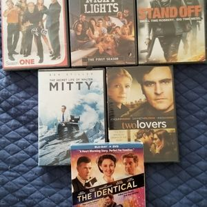 DVD and Bluray Movies.  New.